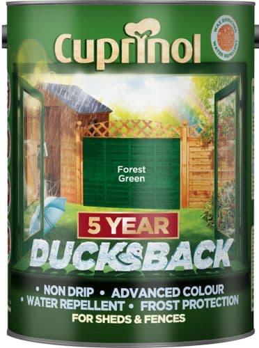 Cuprinol Ducksback 5L - Forest Green